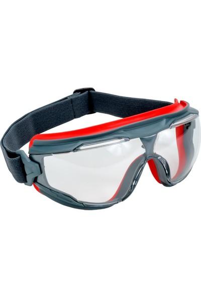 3M Gözlük Gg501 İş Güvenliği Goggle Gear Ventilsiz Scotchgard