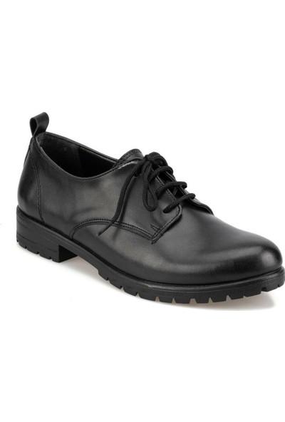 Polaris 92.314831.Z Siyah Kadın Maskulen Ayakkabı