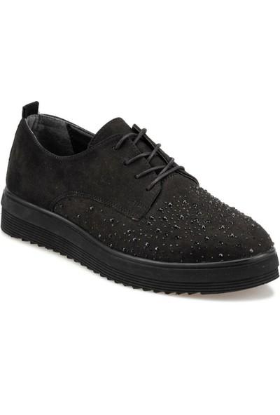 Polaris 92.312060.Z Siyah Kadın Maskulen Ayakkabı