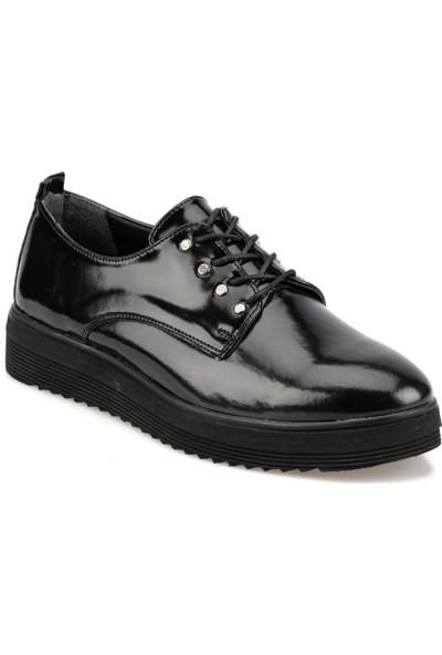 Polaris 92.314165Rz Siyah Kadın Maskulen Ayakkabı