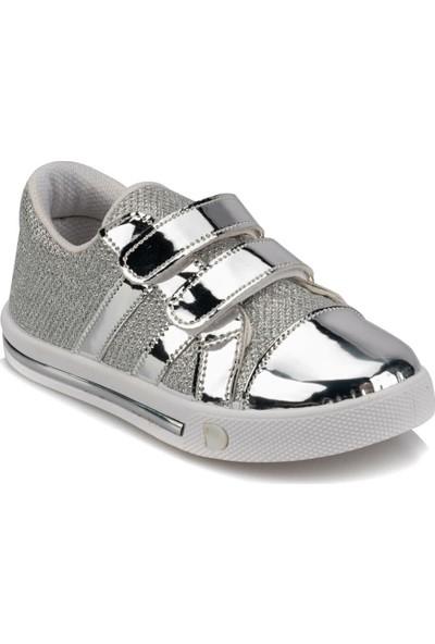 Polaris 92.511749.P Gümüş Kız Çocuk Sneaker Ayakkabı