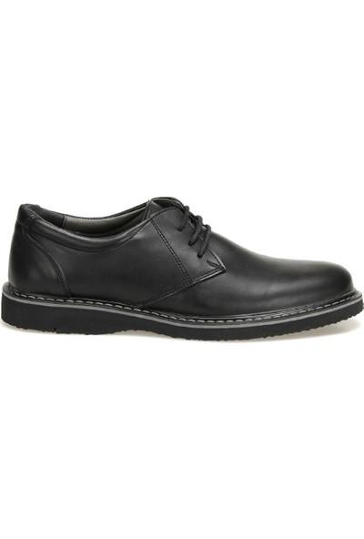 Jj-Stiller 7416-4 Siyah Erkek Ayakkabı