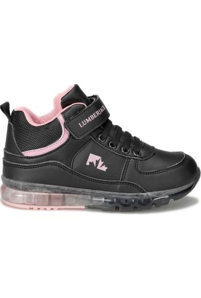 Lumberjack Cap Hi 9Pr Siyah Kız Çocuk Sneaker Ayakkabı