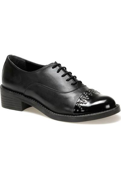 Butigo 19K-002 Siyah Kadın Maskulen Ayakkabı