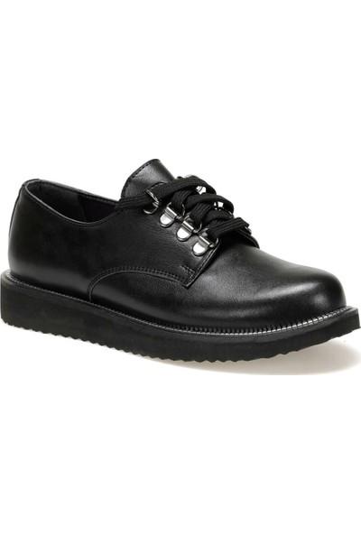 Butigo 19K-401 Siyah Kadın Maskulen Ayakkabı