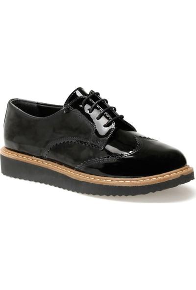 Miss F Dw19085 Siyah Kadın Maskulen Ayakkabı