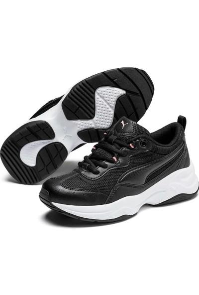 Puma Cilia Jr Siyah Kız Çocuk Sneaker Ayakkabı