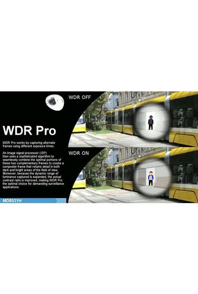 Vivotek Md8531Hf3 1.2 Mp Mobil Network Dome Güvenlik Kamerası