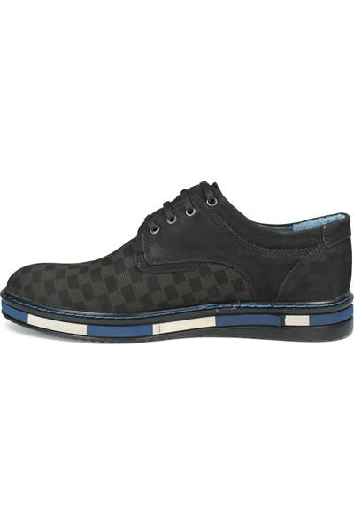 Sepetti Deri Günlük Erkek Ayakkabı