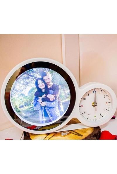 Elasya Hediyelik Sihirli LED Ayna Saatli