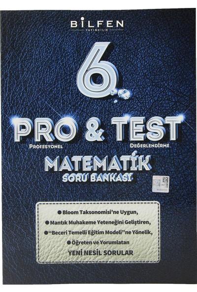 Bilfen Yayınları 6. Sınıf Pro & Test Matematik Soru Bankası