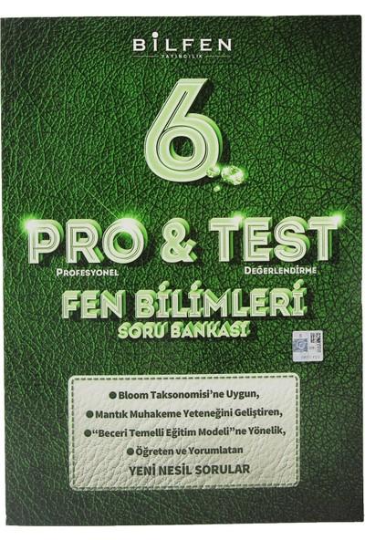 Bilfen Yayınları 6. Sınıf Pro & Test Fen Bilimleri Soru Bankası