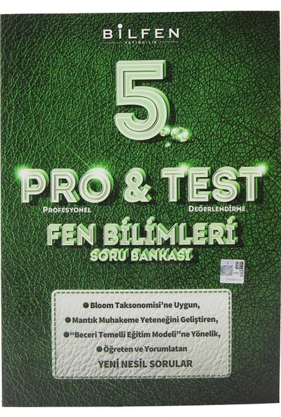 Bilfen Yayınları 5. Sınıf Pro & Test Fen Bilimleri Soru Bankası