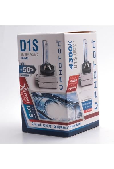 Photon D1S 4300K +%50 Fazla Işık Oem Ampul