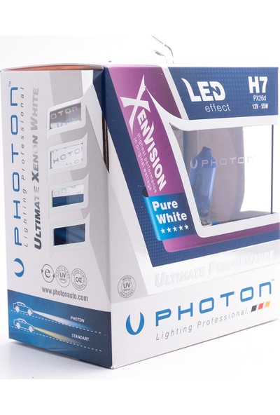 Photon H7 12V 55W 5000K Diamond Vision