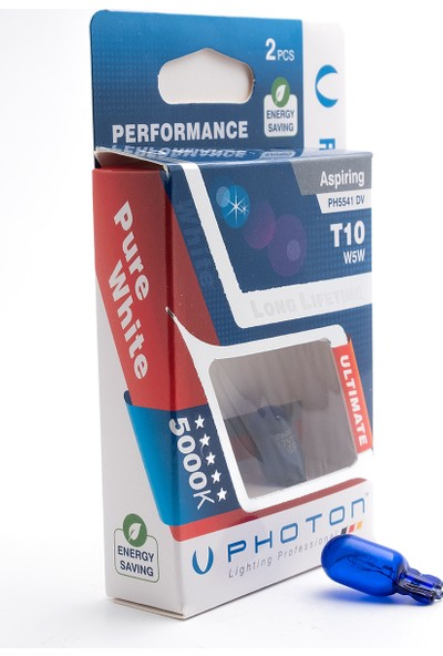 Photon T10 W5W 12V Diamond Vision