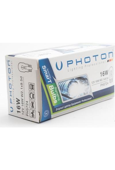 Photon 16W 12V 3.Stop Dipsiz Ampul