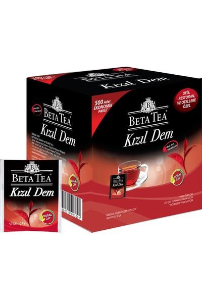Beta Kızıl Dem Türk Çayı Bardak Poşet 500 x 2 GR