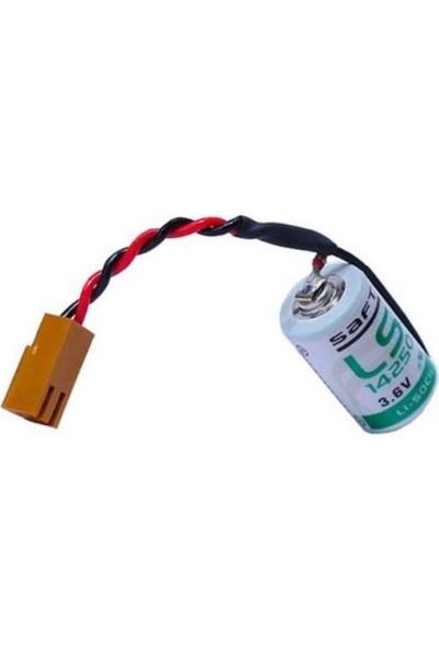 Saft LS14250 Kablolu 1/2AA 3.6V Lithium Pil