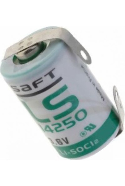 Saft LS14250-CNR 1/2AA 3.6V Lithium Pil / 2 Ayaklı Pil