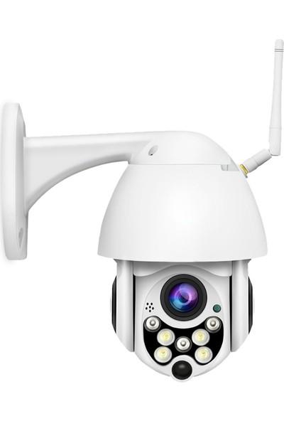 Gringo Ae Ip Güvenlik Kamerası Gece Görüşlü Dış Mekan Ptz 1080P Speed Dome