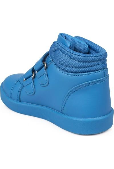 Vicco 313.P19K.104 Patik İşıklı Cırtlı Mavi Çocuk Bot