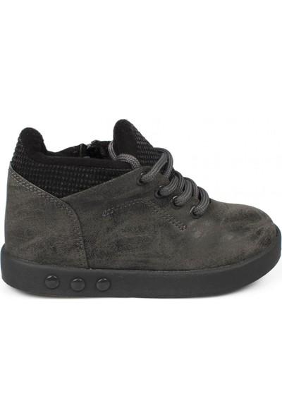 Vicco 313.P19K.105 Patik İşıklı Füme Çocuk Spor Ayakkabı