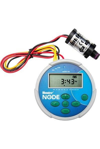 Hunter Node-100 1 İstasyonlu Pilli Kontrol Ünitesi (Dc Bobinli)