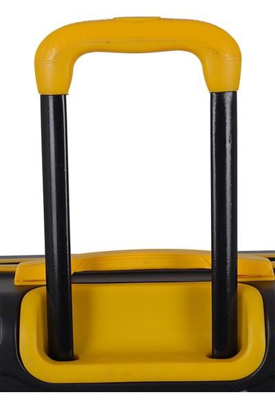 Ççs Nc 092 Abs Orta Boy Valiz Siyah Sarı
