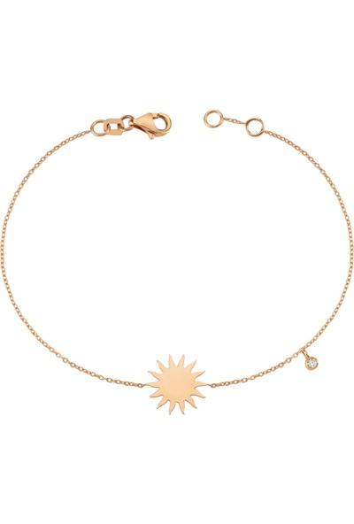 Craft Pırlanta Pure Koleksiyonu Pırlantalı Güneş Bileklik
