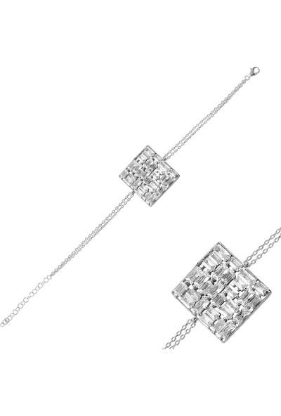 Nayino Takı 20152 Pırıltı Gümüş Bileklik