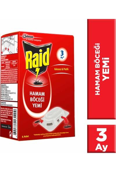 Raid Hamam Böceği Yemi 6 Adet