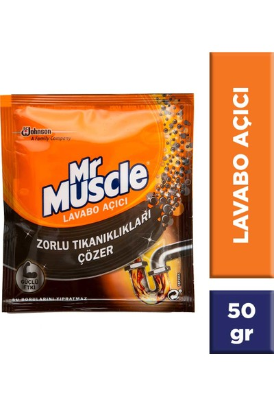 Mr Muscle Granül Lavabo Açıcı tek