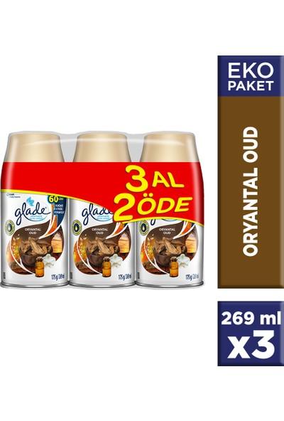 Glade Otomatik Sprey Oda Kokusu Yedek Oryantal Oud 3 al 2 öde - Ipeksi Vanilya