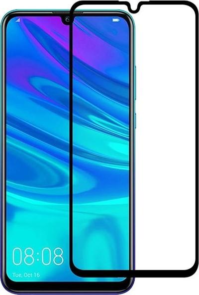 Eiroo Huawei P Smart 2019 Curve Tempered Glass Full Siyah Cam Ekran Koruyucu