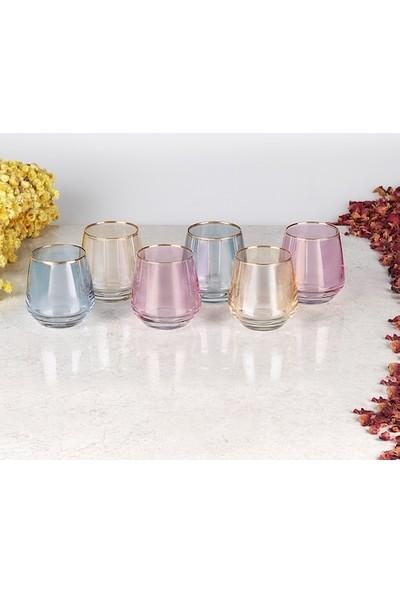 Lav Lal 304 Renkli Kahve Yanı Su Bardağı