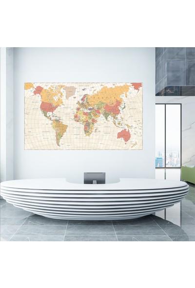 Ega Dünya Siyasi Haritası Duvar Sticker