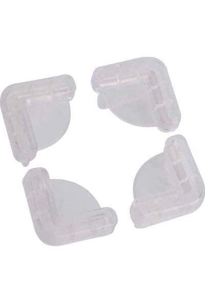 Minisium Çocuk Güvenlik Ürünü ( Dekoratif Köşe Koruyucu - Keskin Köşelerden Korur ) - Paket Içi 4 Adet