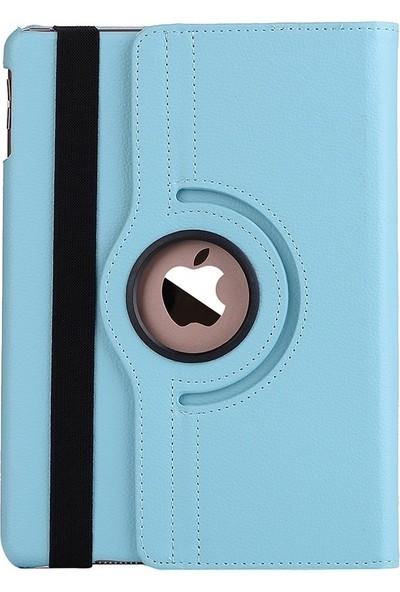 "EssLeena Apple Powers Kılıf Seti iPad Air 3.Nesil (2019) 10.5"" (A2123/A2152/A2153/A2154) 360 Derece Dönebilen Kılıf+Kalem+9H Kırılmaz Cam+Kulaklık+Aux+Şarj Kablosu Turkuaz"