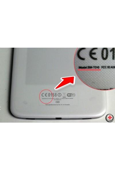 """EssLeena Samsung PlusTech Kılıf Seti Kılıf Seti Galaxy Tab A6 Sm-T580/T585/T587 10.1"""" 360 Derece Dönebilen Tablet Kılıfı+Şarj Kablosu+Kalem (Kalemsiz Model) Beyaz"""