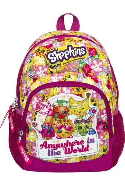 Ümit Çanta Shopkins Renkli Kız Çocuk Anaokulu Sırt Çantası 2156
