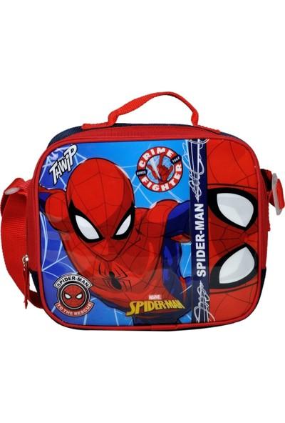 Hakan Çanta Erkek Çocuk Spider-Man Kabartmalı Okul Beslenme Çantası - 96614