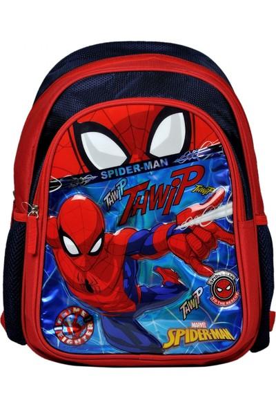 Hakan Çanta Spiderman Iki Gözlü Erkek Çocuk Ilkokul Sırt Çantası