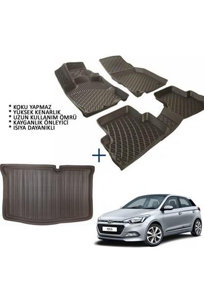 Carx Hyundai I20 3D Havuzlu Oto Paspas ve 3D Bagaj Havuzu (2014 ve Sonrası)