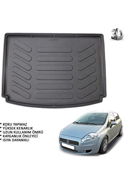 Carx Fiat Grande Punto 3D Havuzlu Oto Paspas ve 3D Bagaj Havuzu (2006 ve Sonrası)
