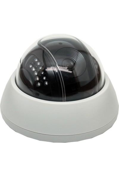 Analog Dome Kamera Mikrofonlu Gece Görüşlü 22 Led