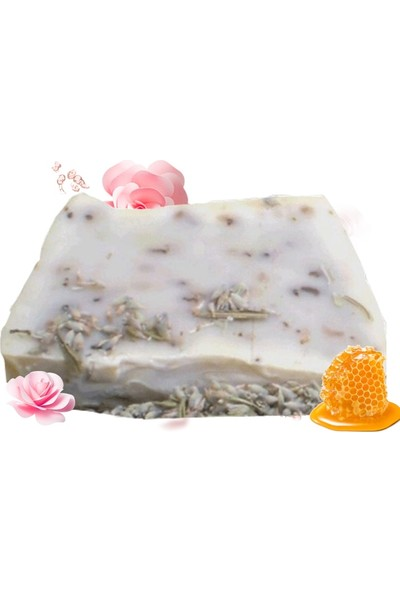 Akita % 100 Doğal El Yapımı Sabun Güllü Ballı 100GR