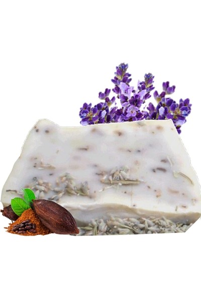 Akita % 100 Doğal El Yapımı Sabun Lavanta Kakao 100GR