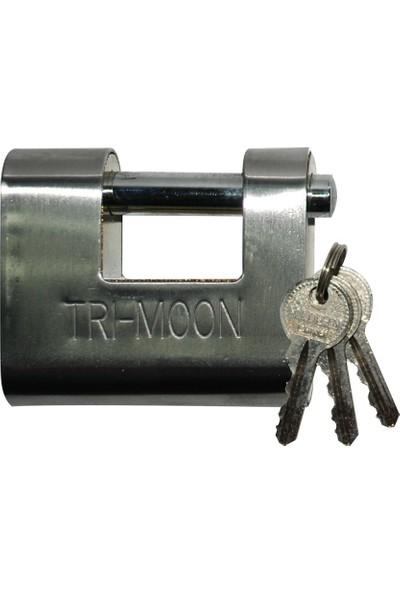 Tri-Moon Asma Kilit Yandan Açmalı Çelik