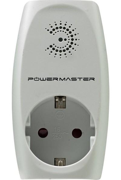 Powermaster PM-17592 Akım Korumalı Tekli Priz (16A-3500W)